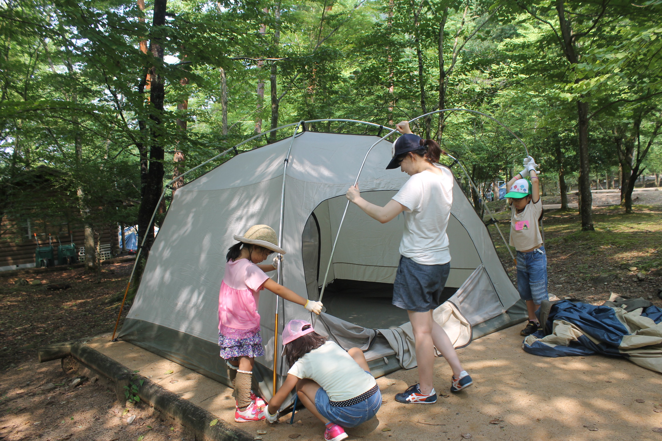 はじめてのキャンプ~星空テント生活~