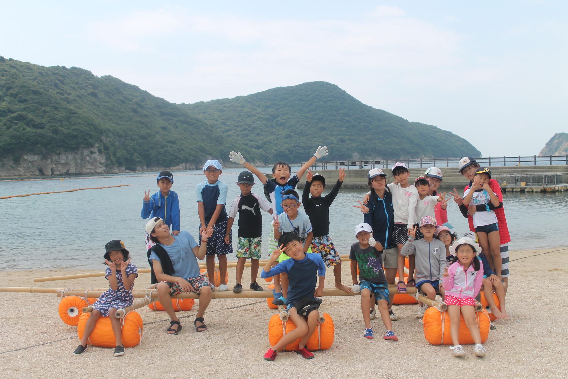 夏空キャンプ~みんなの島冒険記~