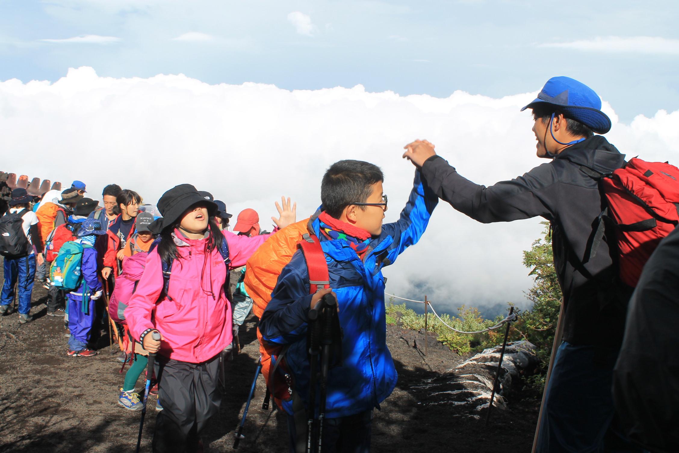 富士登山キャンプ2017