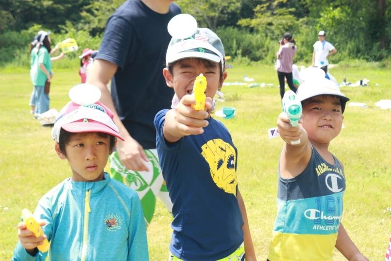 はじめてのキャンプ~夏だ!集まれ!水遊び~