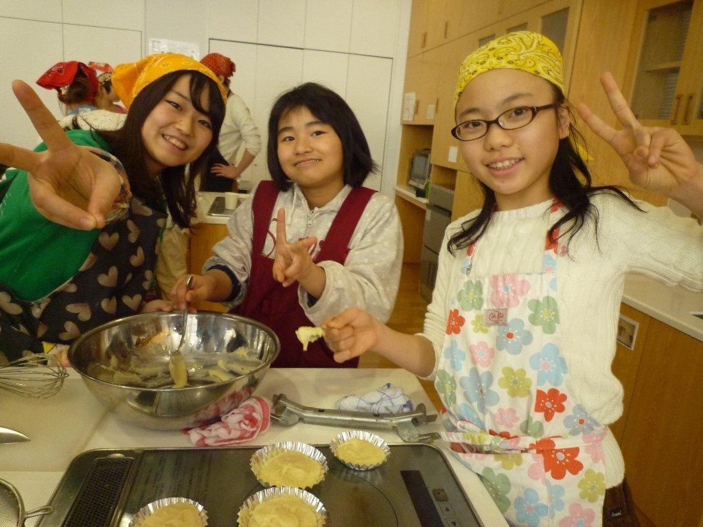 【3/14・日帰り】うま~~~い!ガトーショコラ&クッキー作り!