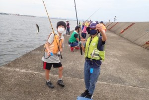 釣り体験②