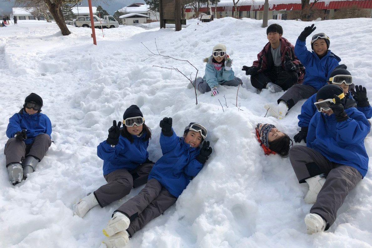 はじめてスキー (2)